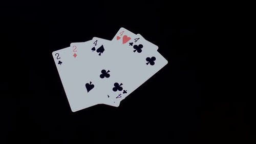 Playing Cards Full House