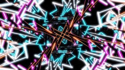 Vj Neon Disco Disco