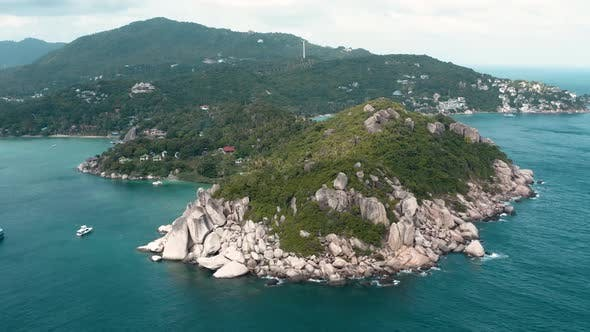 Thumbnail for Aerial View of Koh Tao Samui Province Thailand South East Asia