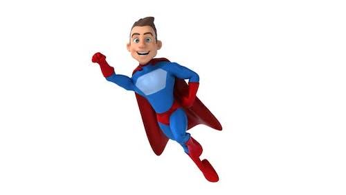 Fun 3D Cartoon Superheld
