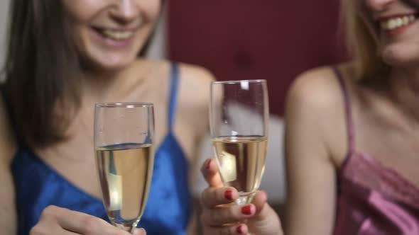 Thumbnail for Female Couple Celebrating Anniversary