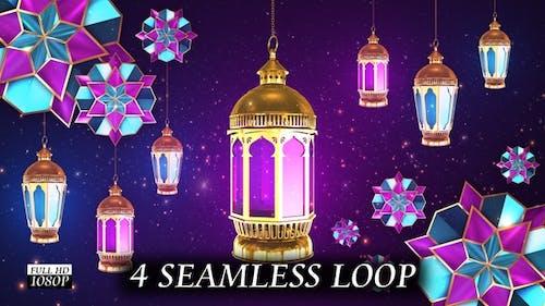 Arabic Lantern Background