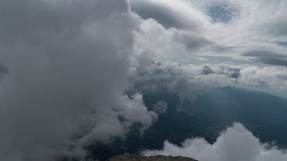 Thumbnail for Clouds Move Overthe European Alps