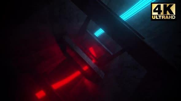 Thumbnail for Red   Blue Energy Vj Loop