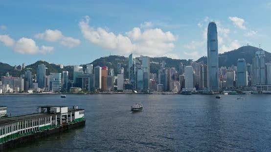 Thumbnail for Victoria Harbor, Hongkong