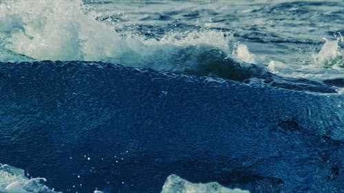 Icebergs and Waves