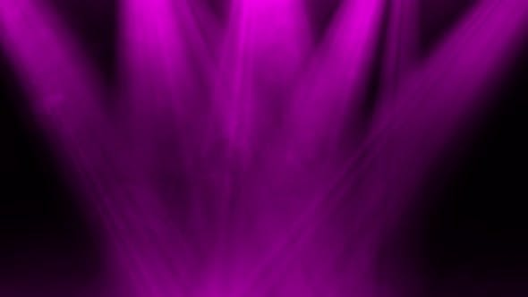 Pink Light Rays