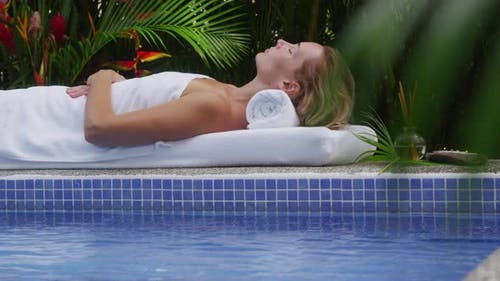 Tropicla spa, Costa Rica. Shot on RED EPIC for high quality 4K, UHD, Ultra HD resolution.
