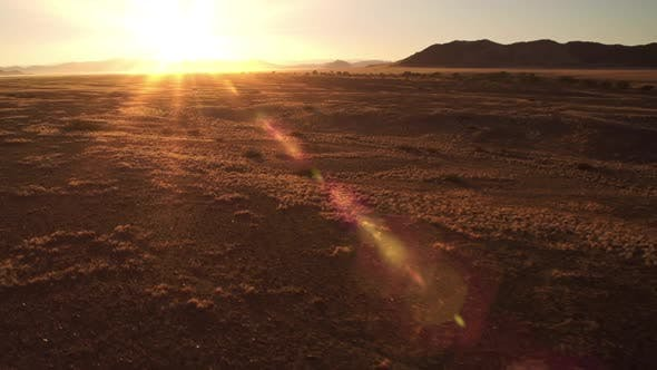 Thumbnail for Flying Over The Namibia Desert