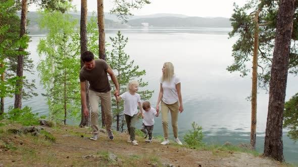 Thumbnail for Family Enjoying Walk in Scenic Location