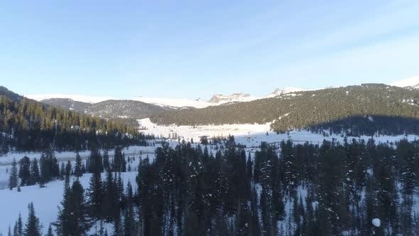 Thumbnail for Aerial Mountain Landscape in Park Ergaki