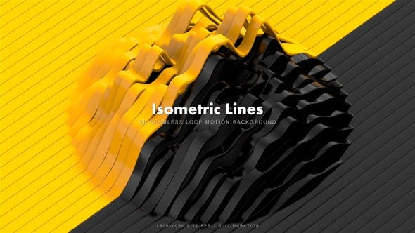 Thumbnail for Isometric Lines Motion