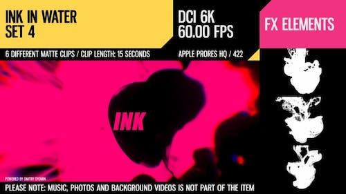 Ink In Water (6K Set 4)
