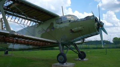 Openair Exhibition of Old Military Transport Aircraft