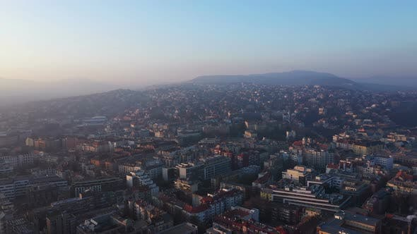 Thumbnail for Aerial View Budapest City