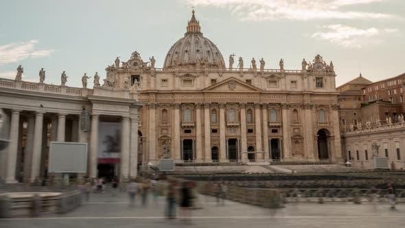 Thumbnail for Vatican City Hyperlapse Rome Italy