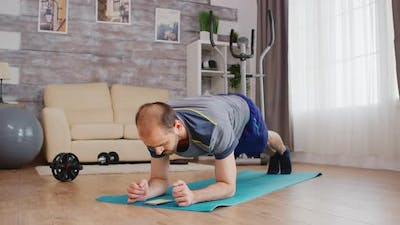 Plank Workout with Timer