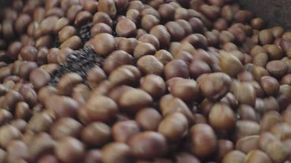 Thumbnail for Roasted Chestnuts in the Market. Phnom Penh, Cambodia, Asia