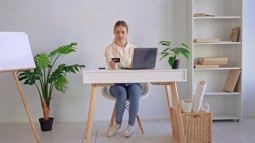 Beautiful Female Buying Online