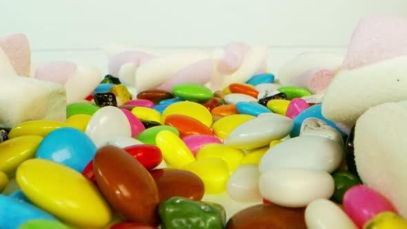 Bonbons sucrés sucrés 1