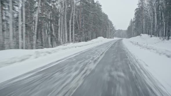 Thumbnail for Traveling by Car in Winter