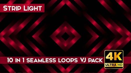 Strip Light VJ Loops Pack
