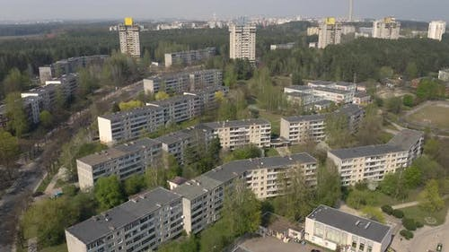 Soviet Union Architecture, Great Example of District Planning in USSR