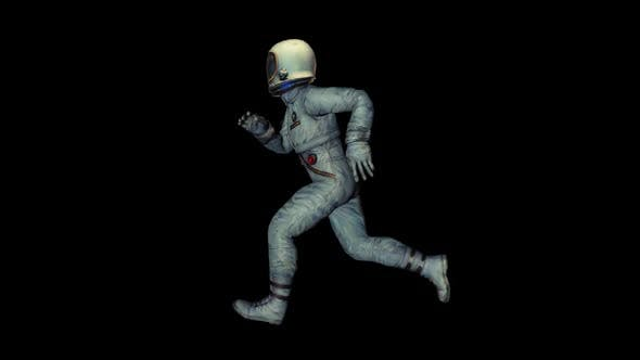 Vintage Astronaut Run