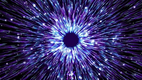Hypnotic Particles Blue
