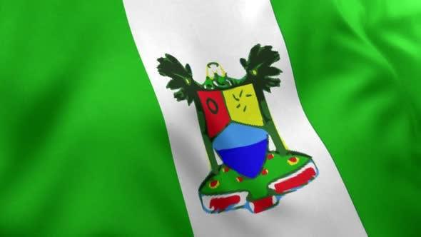 Lagos City Flag (Nigeria)