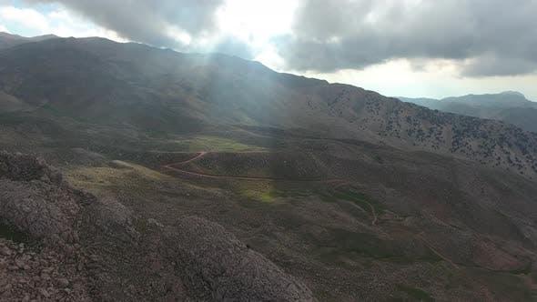 Barren Mountain Topography