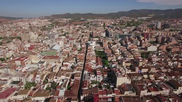 Thumbnail for Aerial Panorama of Barcelona, Spain