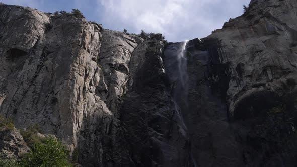 Fall von Bridalveil im Yosemite-Nationalpark, Kalifornien, USA