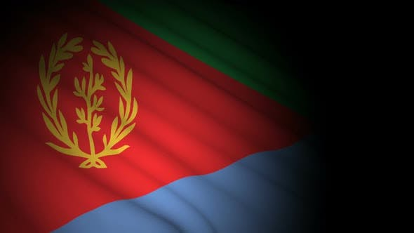 Thumbnail for Eritrea Flag Blowing in Wind