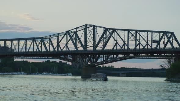 Thumbnail for Alexandra Bridge spanning the Ottawa River