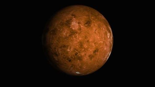 Planet Venus animation