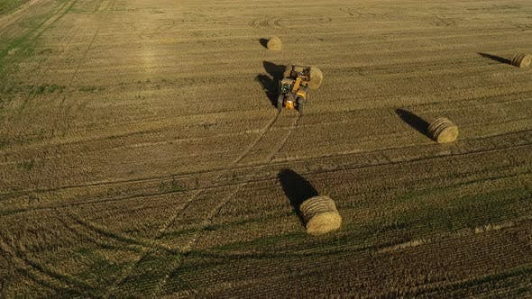 Thumbnail for Hay Bales Harvester