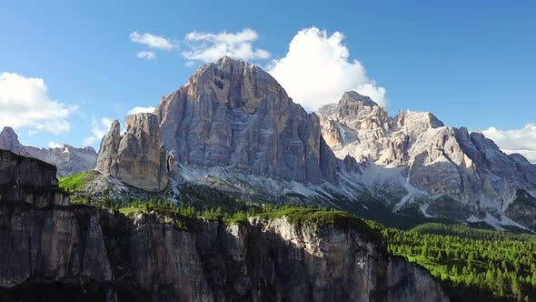 Dolomites and Сlouds