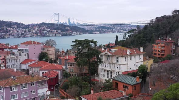 Cover Image for Istanbul Bosphorus Aerial View