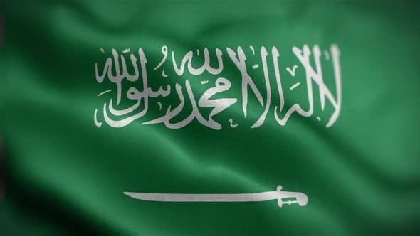 Saudi Flag Front