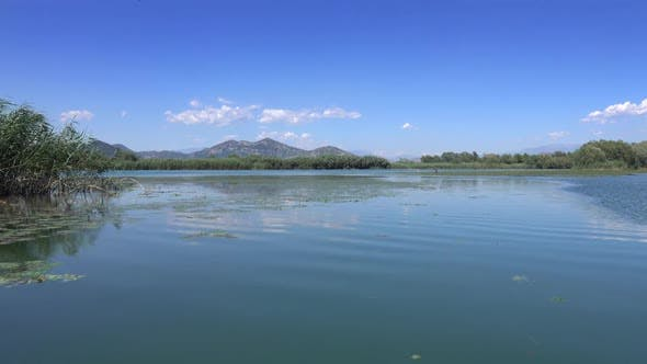 Thumbnail for View From Moving Boat on Famous Lake Skadar