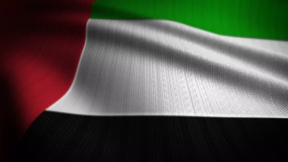 Thumbnail for United Arab Emirates Flag Seamless Loop