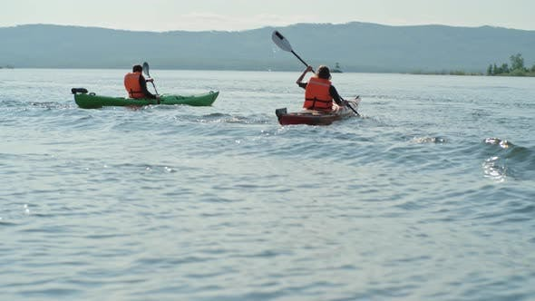 Thumbnail for Couple on Kayaking Vacation