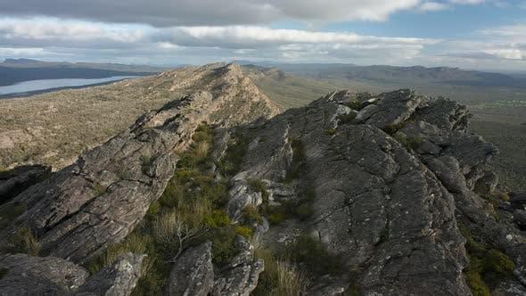 4K Timelapse of the Summit of Mt Difficult (Mt Gar) in Grampians National Park, Victoria, Australia