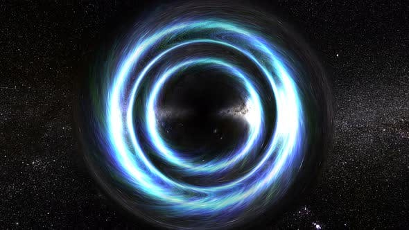 Thumbnail for Blackhole With Gravitational Lensing Effect Seamless Loop