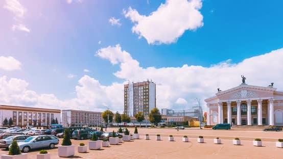 Thumbnail for City Gomel Lenin Square, Drama Theater of Soviet Architecture