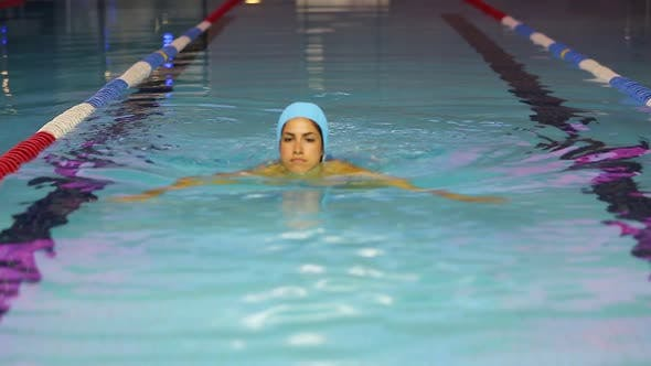 Cover Image for Happy Girl In Swimming Pool