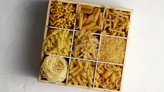 Thumbnail for Box Filled with Assorted Macaroni