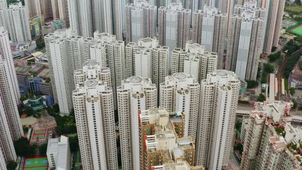 Thumbnail for Hong Kong residential district from above