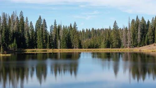 Zeitraffer eines Bergsees in Colorado